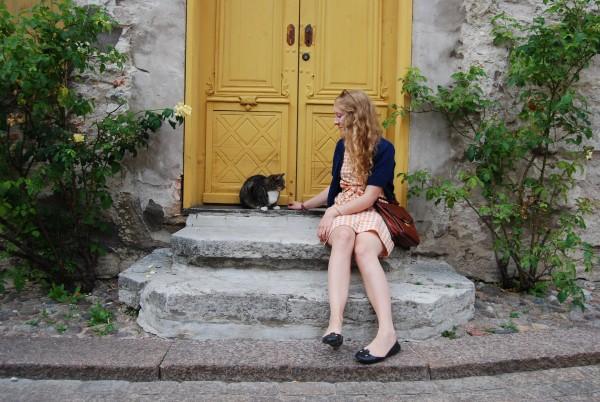 jag och kattkompis nummer två visby innerstad